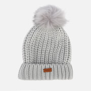 Barbour Women's Saltburn Beanie - Ice White
