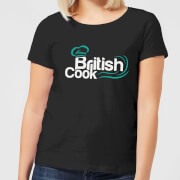 British Cook Green Women's T-Shirt - Black