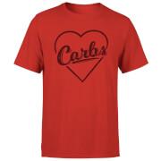 Love Carbs Men's T-Shirt - Red