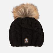 Parajumpers Women's Cable Hat - Black