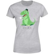 Tea Rex Women's T-Shirt - Grey