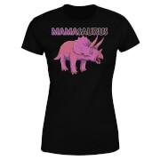 Mama Saurus Women's T-Shirt - Black