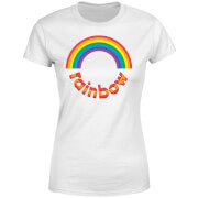 Rainbow Circle Logo Women's T-Shirt - White