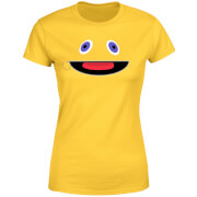 Rainbow Zippy Face Women's T-Shirt - Yellow