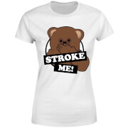 Rainbow Stroke Me Bungle Women's T-Shirt - White