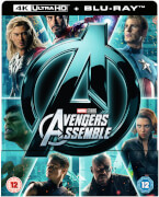 Avengers Assemble 4K Ultra HD (Includes 2D Version) - Zavvi Exclusive Steelbook