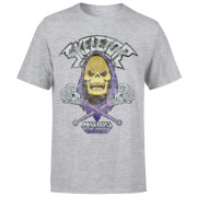 He-Man Skeletor Distressed Men's T-Shirt - Grey