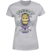 He-Man Skeletor Distressed Women's T-Shirt - Grey