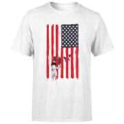 USA Cage Men's T-Shirt - White