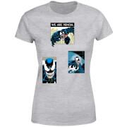 Venom Collage Damen T-Shirt - Grau