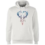 Antlers Hoodie - White