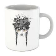 Native Girl Mug