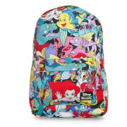 Loungefly Disney The Little Mermaid Ariel Characters AOP Backpack