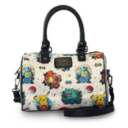 Loungefly Pokémon Tattoo AOP Faux Leather Cross Body Bag