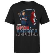 Avengers Captain America T-shirt - Zwart
