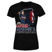 Avengers Captain America Women's T-Shirt - Black