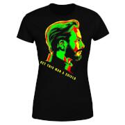 Avengers Get This Man A Shield Dames T-shirt - Zwart