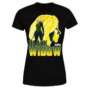 Avengers Schwarz Widow Damen T-Shirt - Schwarz