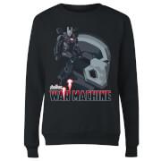 Avengers War Machine Women's Sweatshirt - Black