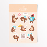 Sloth Love Sticker Pack
