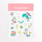 Forever A Mermaid Sticker Pack