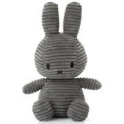 Miffy Sitting Corduroy - Dark Grey