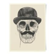 Monocle Skull Art Print