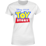 Toy Story Logo Women's T-Shirt - White