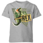 Toy Story Partysaurus Rex Kids' T-Shirt - Grey