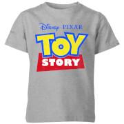 Toy Story Logo Kids' T-Shirt - Grey