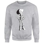Toy Story Sheriff Woody Sweatshirt - Grey