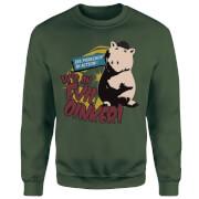 Toy Story Evil Oinker Sweatshirt - Forest Green