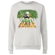 Toy Story Half Doll Half-Spider Women's Sweatshirt - White