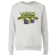 Toy Story Who Squeaked Women's Sweatshirt - White