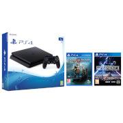 Sony PlayStation 4 Slim 1TB Including God of War & Star Wars Battlefront