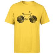 Velophone Men's T-Shirt - Yellow