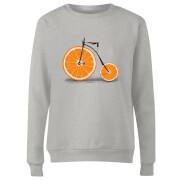Citrus Women's Sweatshirt - Grey