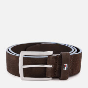 Tommy Hilfiger Men's Denton Nubuck Belt - Brown