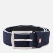 Tommy Hilfiger Men's Denton Nubuck Belt - Navy