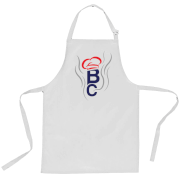 British Cook Letters Apron - White