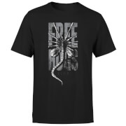 Alien Free Hugs Men's T-Shirt - Black