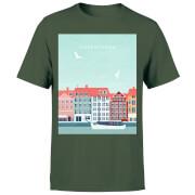 Copenhagen Men's T-Shirt - Forest Green