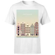 Amsterdam Men's T-Shirt - White