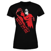 Incredibles 2 Saving The Day Women's T-Shirt - Black