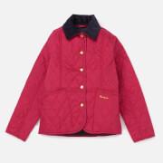 Barbour Girls' Summer Liddesdale Jacket - Fucshia/Navy