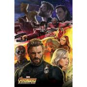 Avengers: Infinity War Captain America Maxi Poster 61x91.5cm
