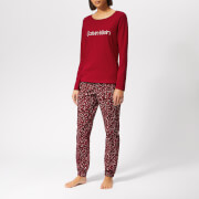 Calvin Klein Women's PJ Gift Set - Red