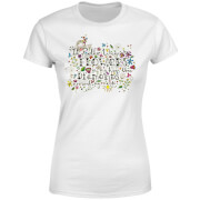I'd Rather Wear Flowers In My Hair Than Diamonds Around My Neck Women's T-Shirt - White