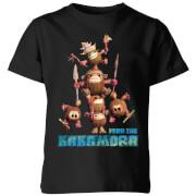 Moana Fear The Kakamora Kids' T-Shirt - Black