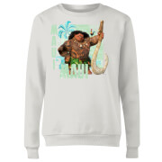 Moana Maui Women's Sweatshirt - White
